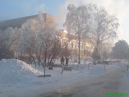 гл корпус - зима